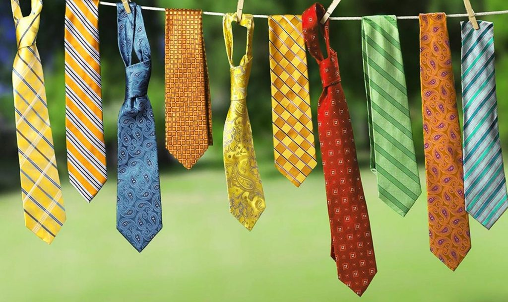 Diversas corbatas para todos los estilos.